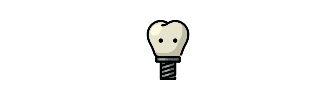 Имплантация передней группы зубов
